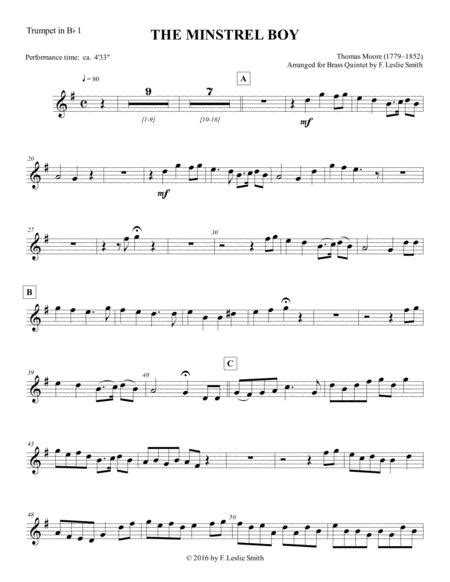 the minstrel boy the moreen the son of god goes forth to war one in jesus music sheet