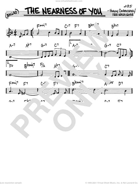 The Nearness Of You Flute 1  music sheet
