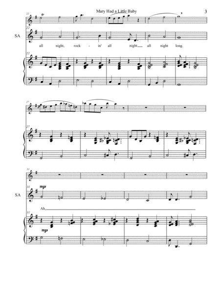 The Rockin Carol Unison With C Instrument  music sheet