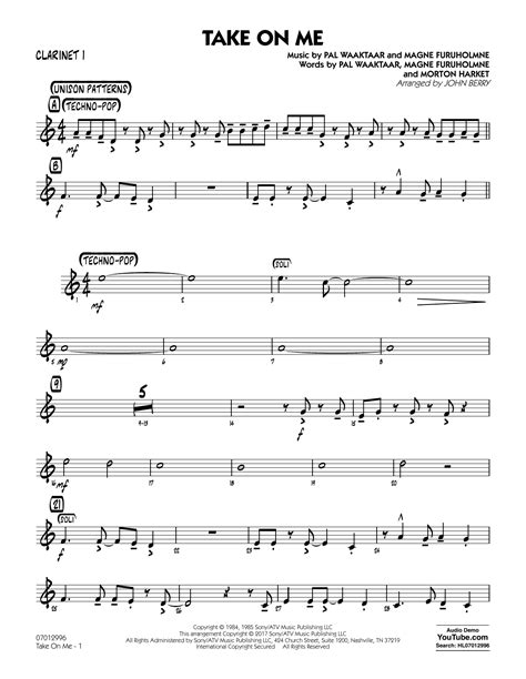 The Sound Of Music For Clarinet Choir And Piano  music sheet