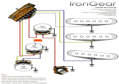 free download ebooks The Strat Wiring Diagram