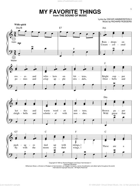 The Thing  music sheet