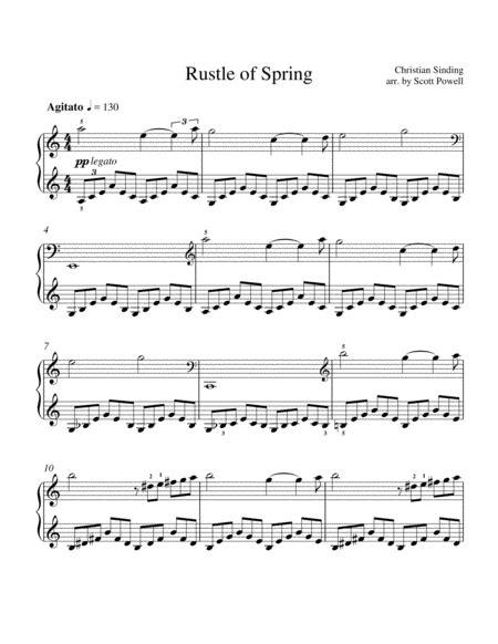 The Tree Rustles  music sheet