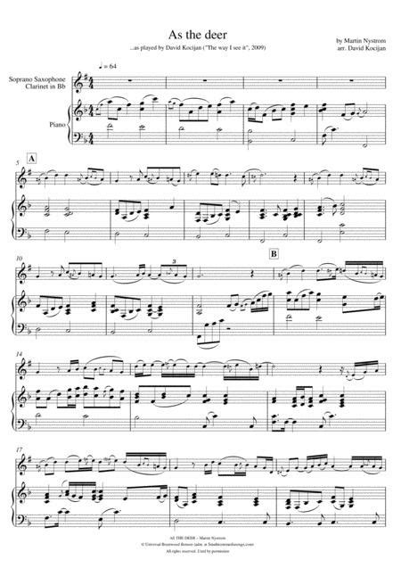 The Wild Ashe Deer For Mezzo Soprano And Piano  music sheet