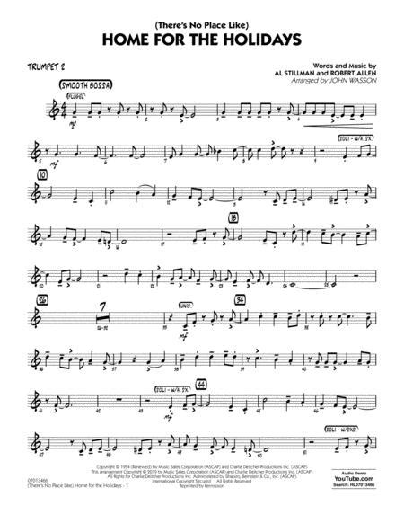 Theres No Place Like Home For The Holidays Arr John Wasson Guitar  music sheet