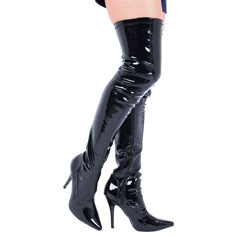 thigh high boots men eBay