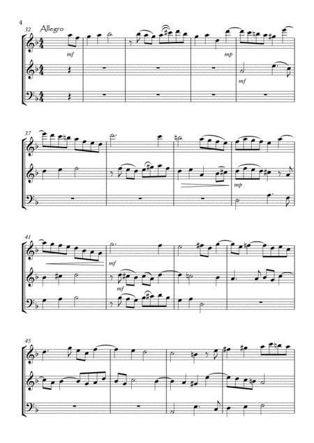 Three Sonatas No1 2 3  music sheet