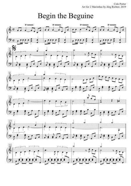 Tico Tico Fr 2 Marimbaphone  music sheet
