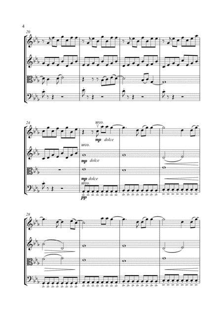 Titanium By David Guetta Arranged For String Quartet  music sheet