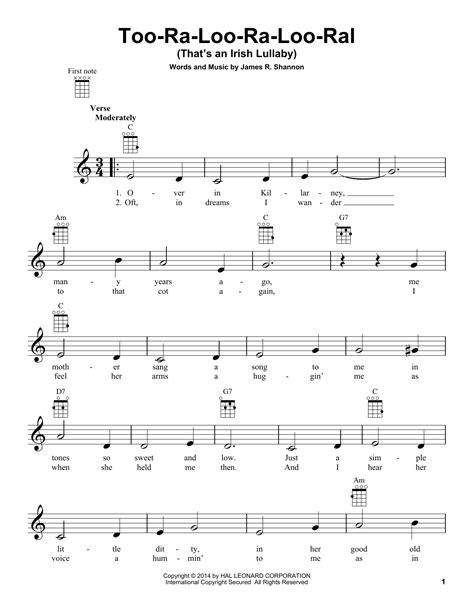 Too Ra Loo Ra Loo Ral For Brass Trio Unaccompanied  music sheet