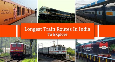 top 10 Longest Train Routes in India My India