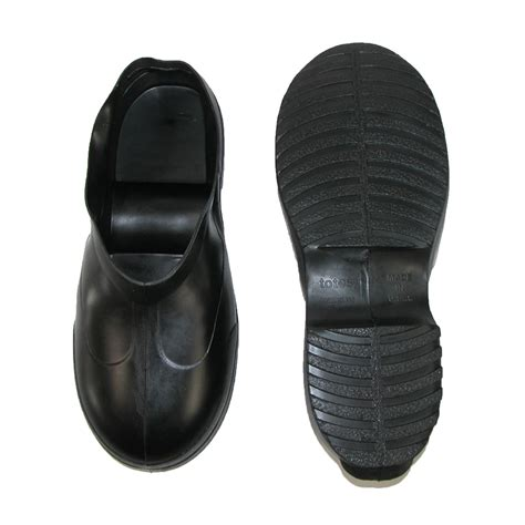 totes Men s Work Boot Style Rubber Overshoes