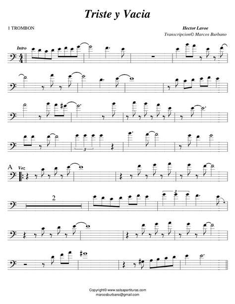 Triste Y Vacia En Version Para Flauta music sheet