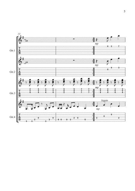 Twelve Monkeys  music sheet