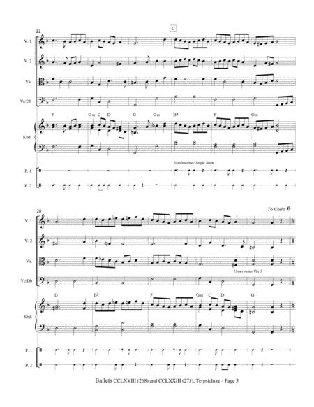 Two Ballets Dances Cclxviii 268 And Cclxxiii 273 From Terpsichore Praetorius  music sheet