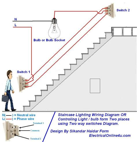 two way switch wiring diagrams light wiring
