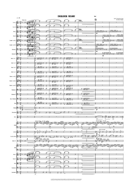 Unchained Melody Vocal With Big Band Key Of C  music sheet
