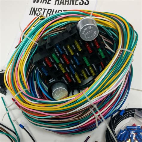 free download ebooks Universal Wire Harness With Fuse Box