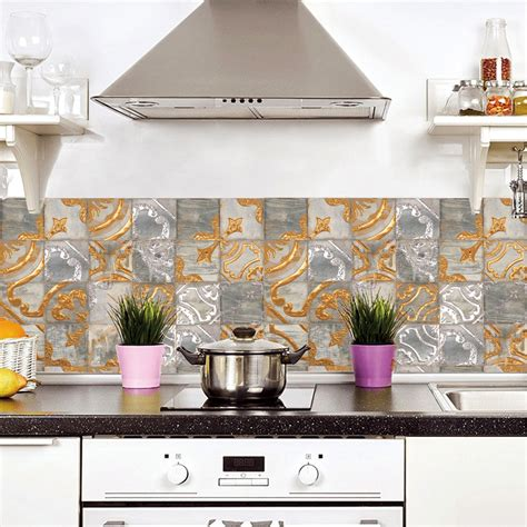 vinyl tiles backsplash eBay
