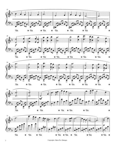 Voile Rouge Voile Blanche  music sheet
