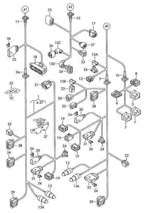 free download ebooks Volkswagen Vw Touareg Central Wiring Harness Single Parts A