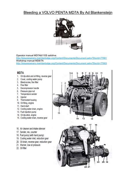 free download ebooks Volvo Md7a Manual.pdf