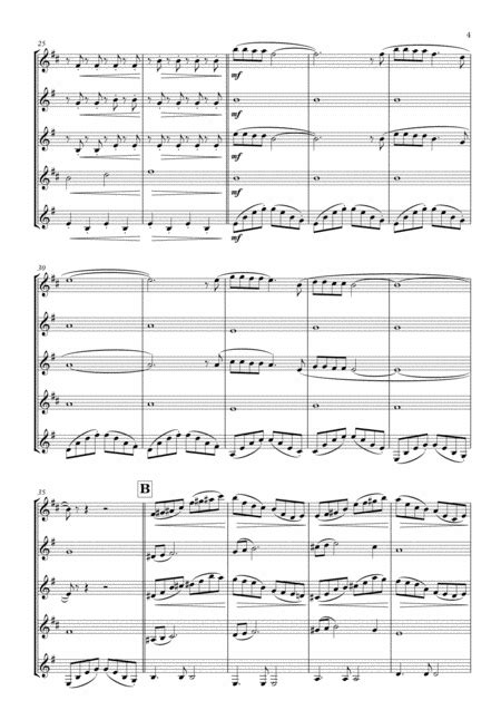 Walking In The Air Arranged For Wind Quintet  music sheet