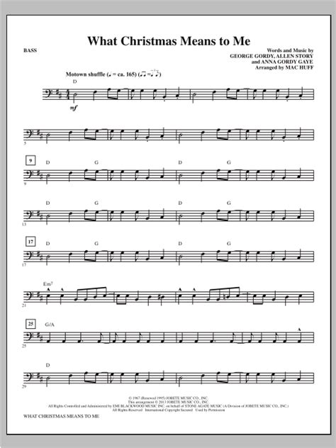What Christmas Means To Me Brass Trio  music sheet