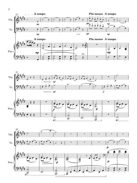 When The Partys Over Voice Duet Original Key  music sheet