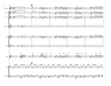 Whiplash Arrangement For Jazz Ensemble  music sheet