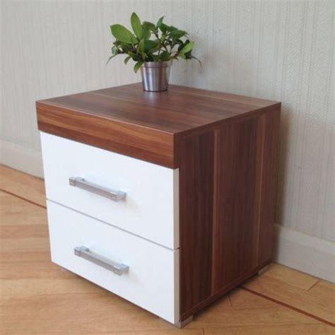 white bedside tables eBay