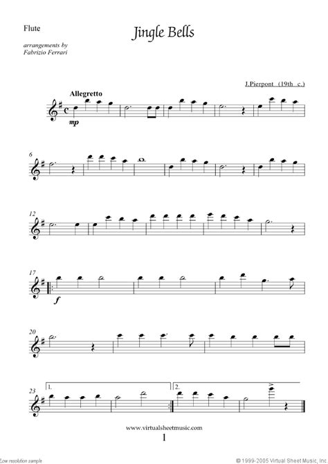 White Christmas For Flute And Violin  music sheet