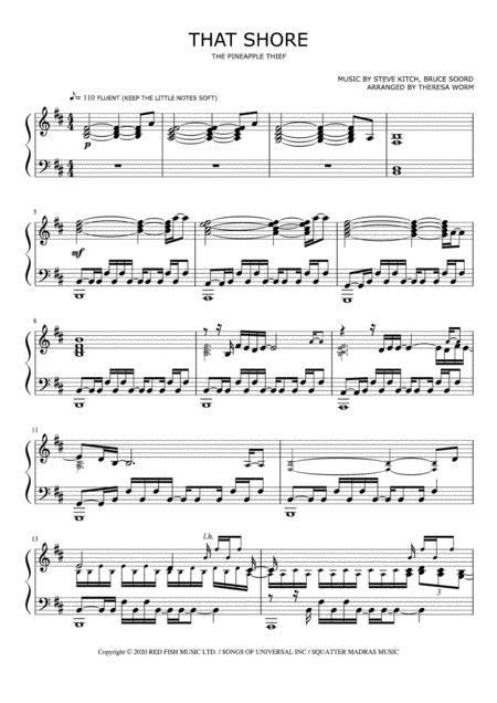 Wicklows Shore  music sheet