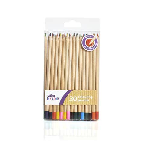wilko colouring pencils