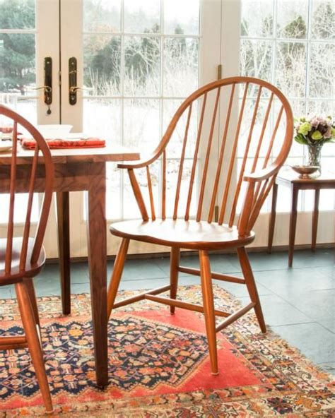 windsor dining chairs Shaker Style