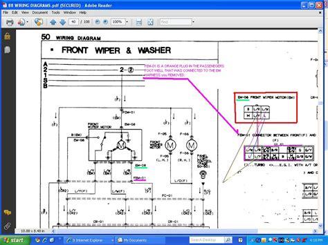 free download ebooks Wiper Wiring Diagram 2001 Lincoln