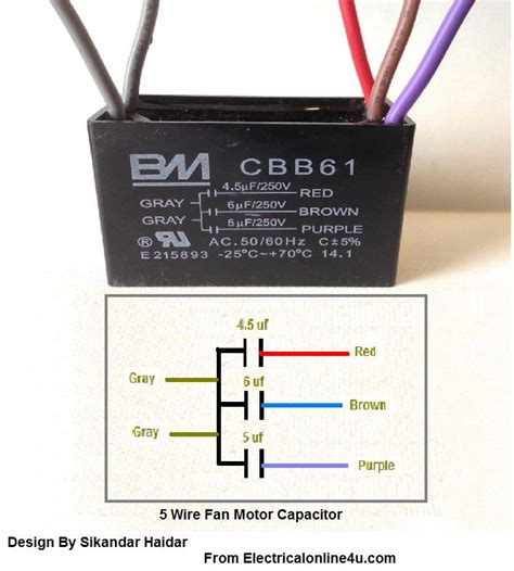 free download ebooks Wire Diagram For Cbb61 Capacitor