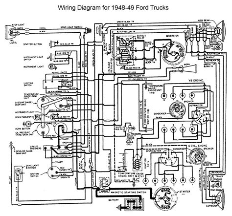 free download ebooks Wiring Diagram 1951 F1 Ford Truck