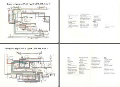 free download ebooks Wiring Diagram 1972 Porsche 911