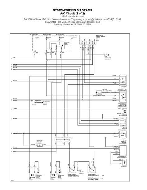 free download ebooks Wiring Diagram Honda Accord 1997