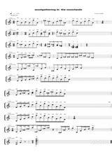 Woolgathering In The Moorlands  music sheet