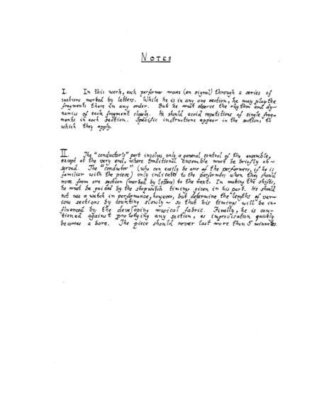 Wuorinen Trio  music sheet