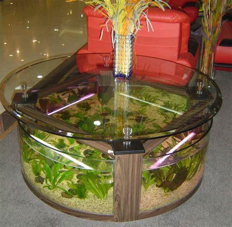 www 4FishTank coffee table aquariums New York