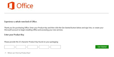 www Office Setup Enter Office Product Key