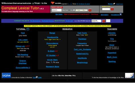 www lextutor ca
