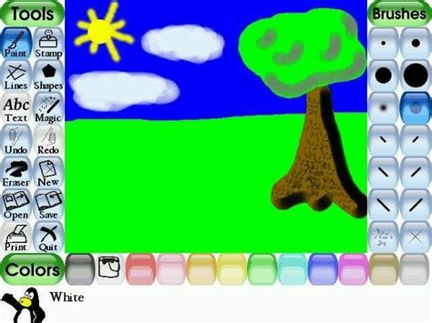 www tuxpaint Free Drawing Software for Kids