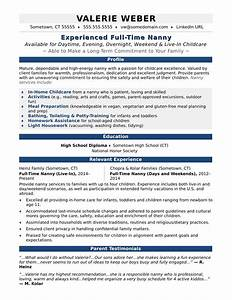 how to add nanny experience to a resume  write alphabet letters on    how to make a good nanny resume