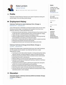 veterinary assistant free sample resume  front desk medical    how to create a veterinary technician resume