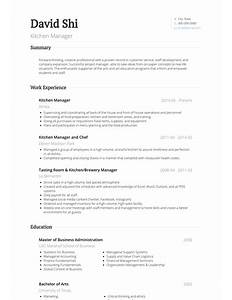 kitchen porter cover letter for resume  cold call cover letter    kitchen manager resume  example  sample
