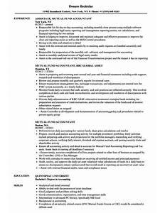 external auditor resume samples  internal auditor resume        mutual fund accountant resume samples